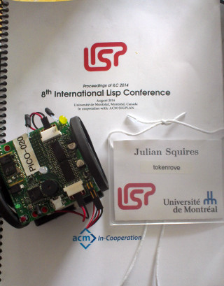 [ILC2014 proceedings, badge, and picobot]